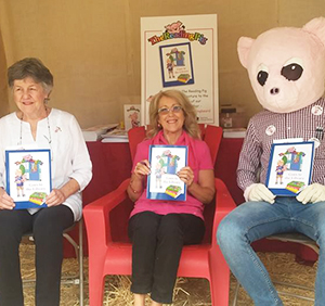 The Reading Pig Goes To The Library was revealed at the Tucson Festival of Books. Joining the celebration was the Illustrator - Judy Nostrant and of course, our guest author, Mrs C. Kandy Clinkingbeard