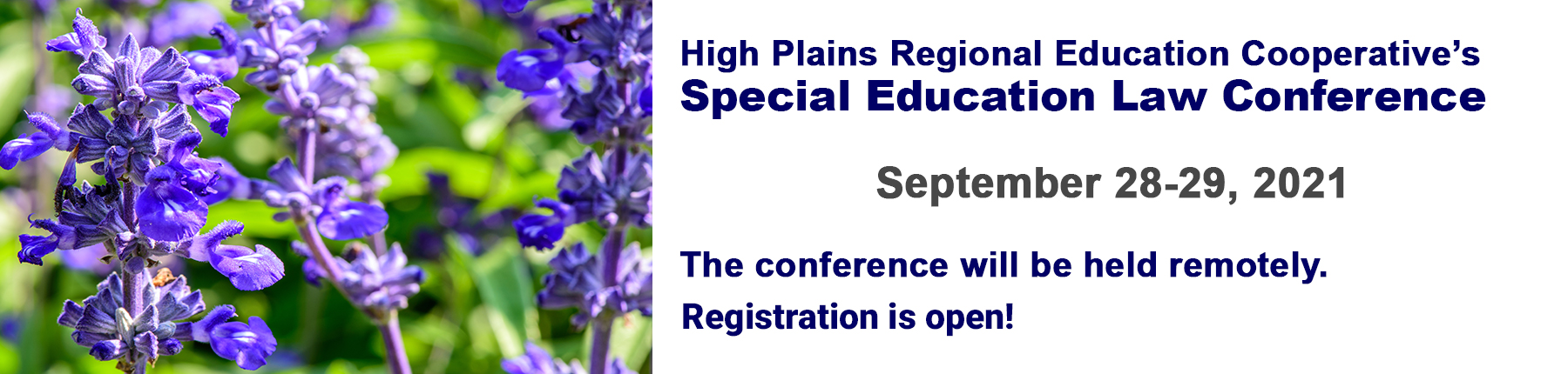Special Education Law Conference- We look forward to seeing you at the September 2021 Conference!