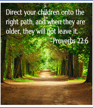 Tree path, bible verse