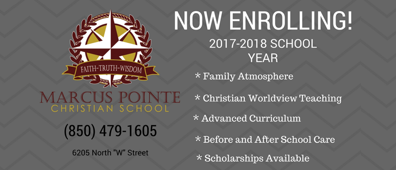 Now Enrolling 2017-2018 school year