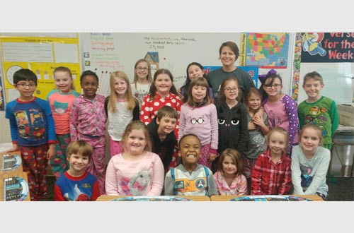 Group of 2nd graders