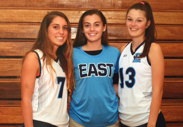 Girls lacrosse captains