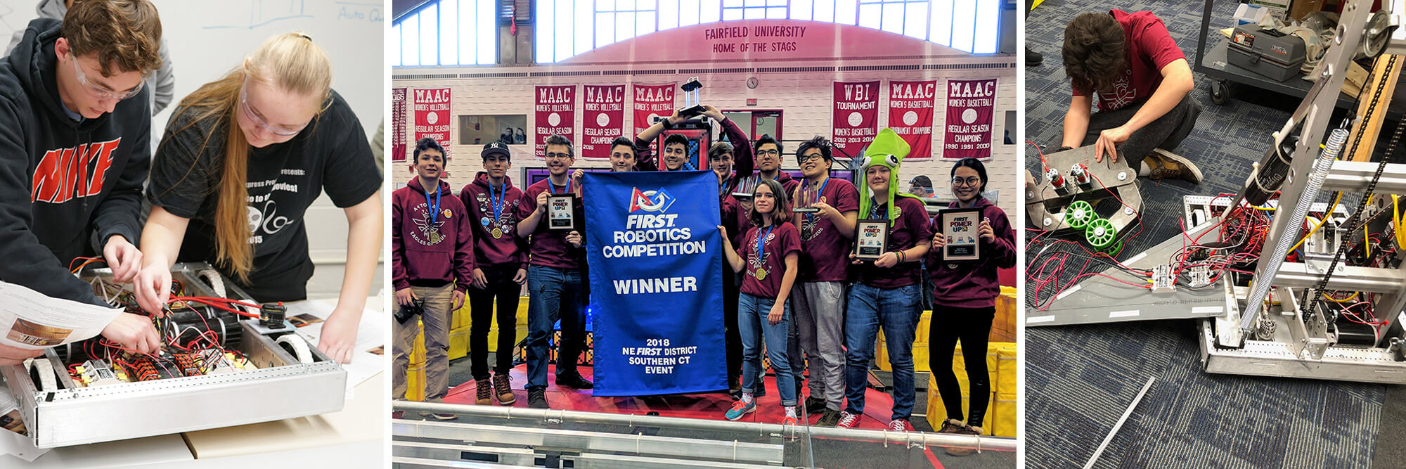 08-FIRST Robotics Competition Winner 2018 NE FIRST District Southern CT Event