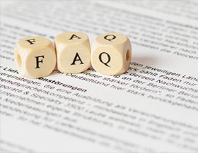 Boggle letters spelling FAQ