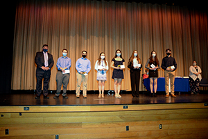 Group of students honored as scholars
