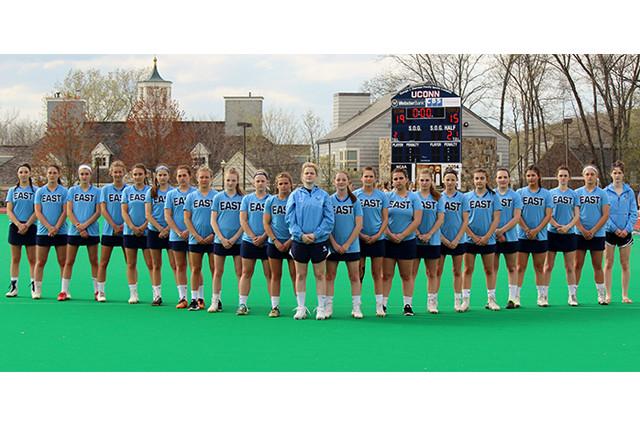 Girls Lacrosse game at UConn Stadium - 2017