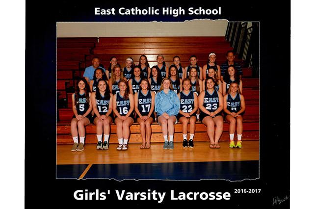 Girl's Varsity Lacrosse team 2016-2017