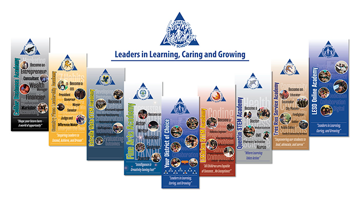 Leaders in Learning, Caring and Growing - School Choices for 2021 flyer