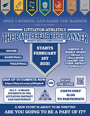 Battle of the Banner English Flyer