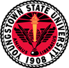 Youngstown State University logo - 1908