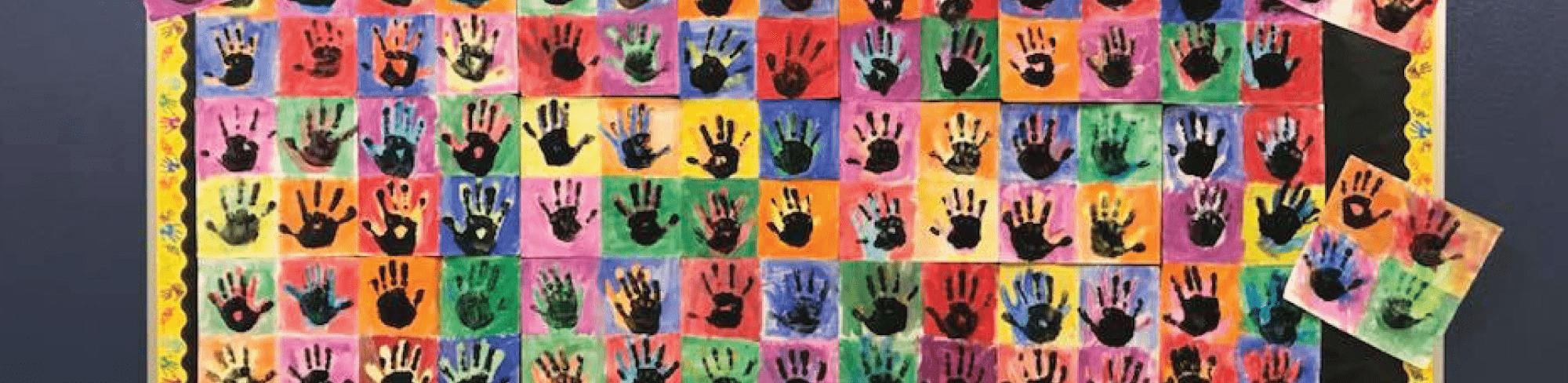 Handprint artwork