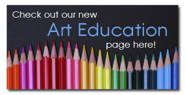 Check out our new Art Education page here!