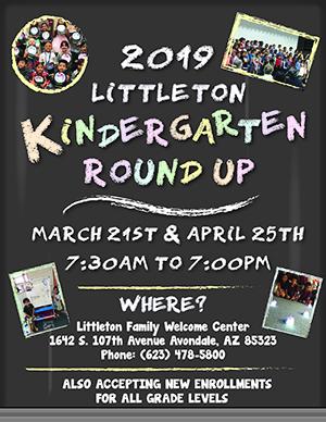 2019 Littleton Kindergarten Round Up