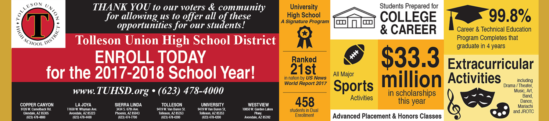 Tolleson District flyer