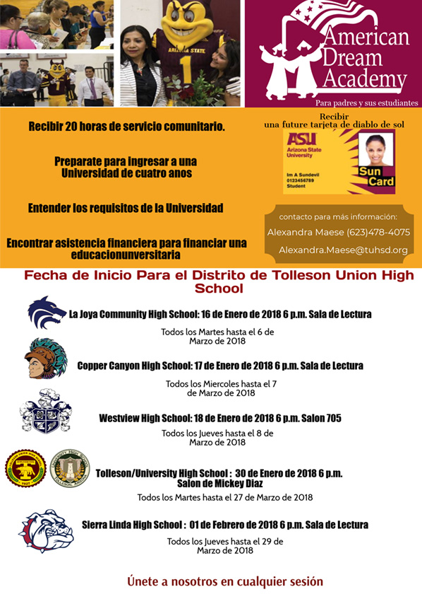 ADA Spring 2018 Flyer SPANISH