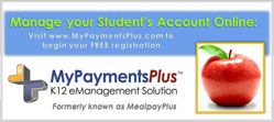 Visit MyPaymentsPlus formerly known as MealpayPlus