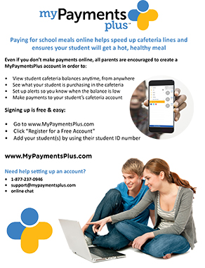View the payment plus flyer.