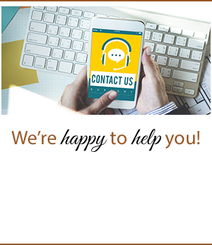 We're happy to help you!