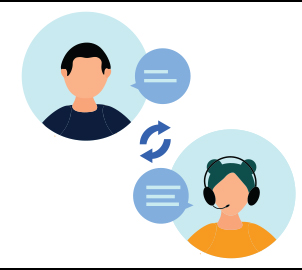 Technology support help desk icon