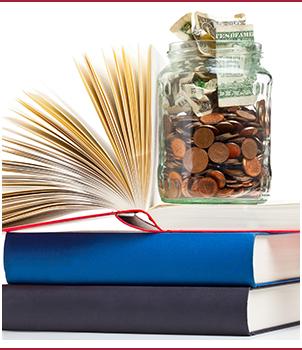 Money and books