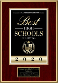 US News University High School 2020 Rankings