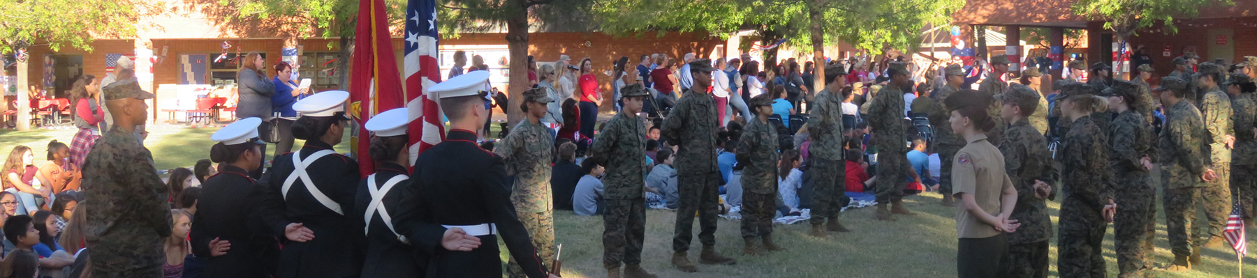 ROTC participating in program