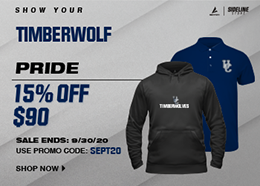 Welcome back! Get your Timberwolves back to school essentials. 20% off $85