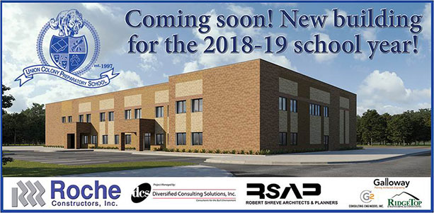 Coming Soon! New building for the 2018-19 school year.