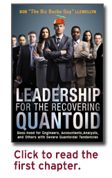 Leadership for the Recovering Quantoid book cover. Click to read the first chapter.