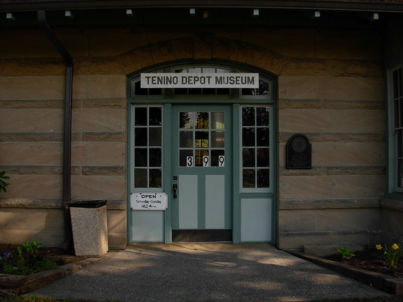 Front of Train Depot