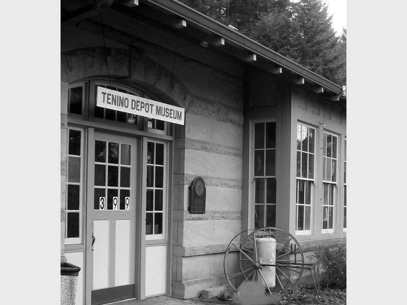 Historic Train Depot Photo