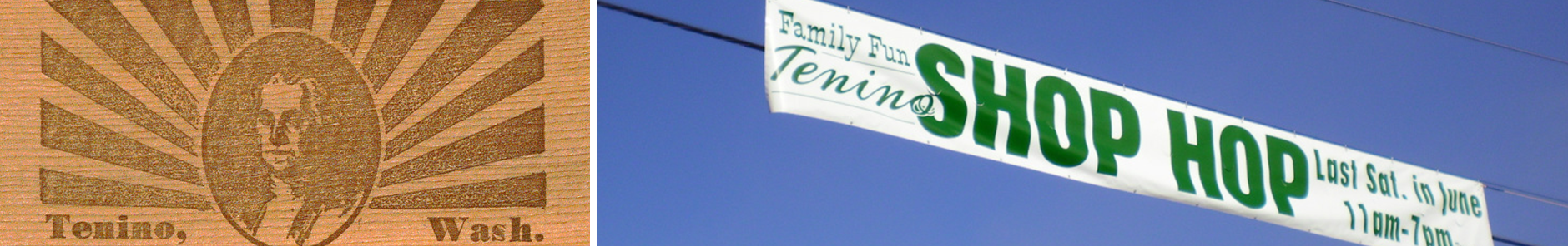 Tenino Sign | Family Fun Day
