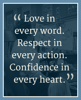 Love in every work quote