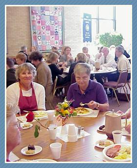 Funeral Luncheon Servers