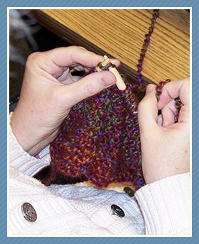 knitting prayer shawl