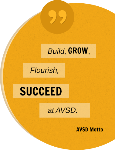 Challenging EVERY Student to Achieve EXCELLENCE AVDO Motto
