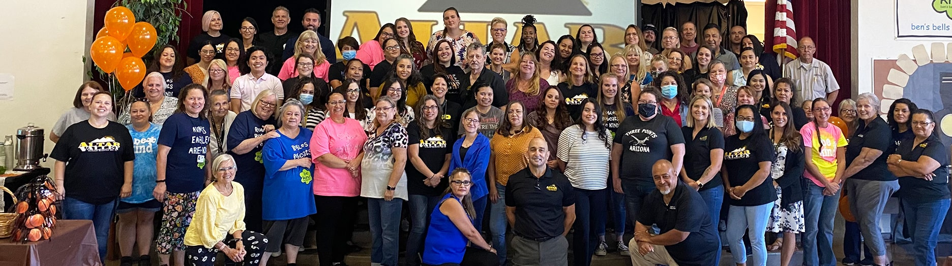 Altar Valley School District teachers and staff for the 2021-2022 school year