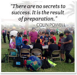 There are no secrets in success, it is the result of preparation. - Colin Powell