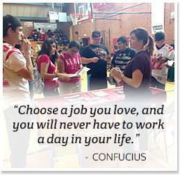 Choose a job you love, and you will never have to work a day in your life. - Confucius