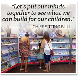 Lets put our minds together to see what we can build for our children.  - Chief Sitting Bull