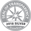 SEAL OF TRANSPARENCY 2018 SILVER GuideStar