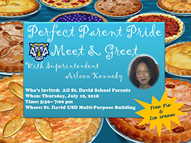 Perfect Parent Pride Meet and Greet with Superintendent Arleen Kennedy