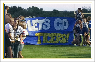 Athletic banner