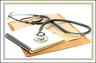 Notebook and Medical equipment