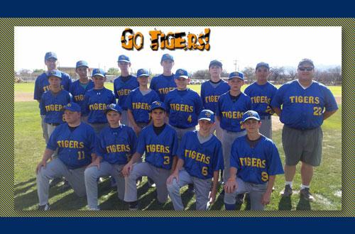 Boys Baseball Team