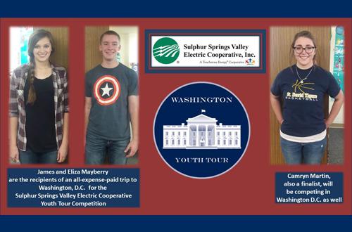 Student Washington Youth Tour winners