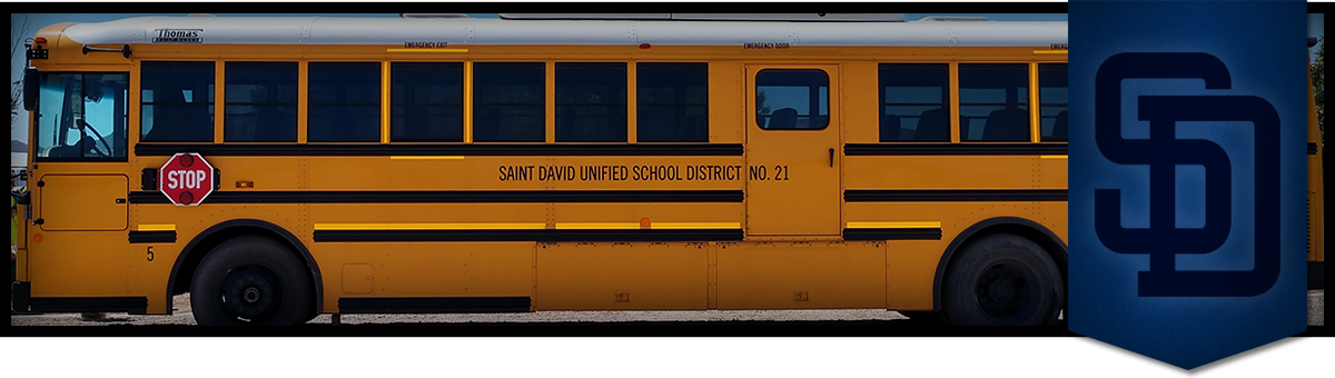 Saint David Unified School District number 21 School Bus