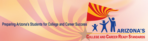 Arizona's College and Career Ready Standards logo