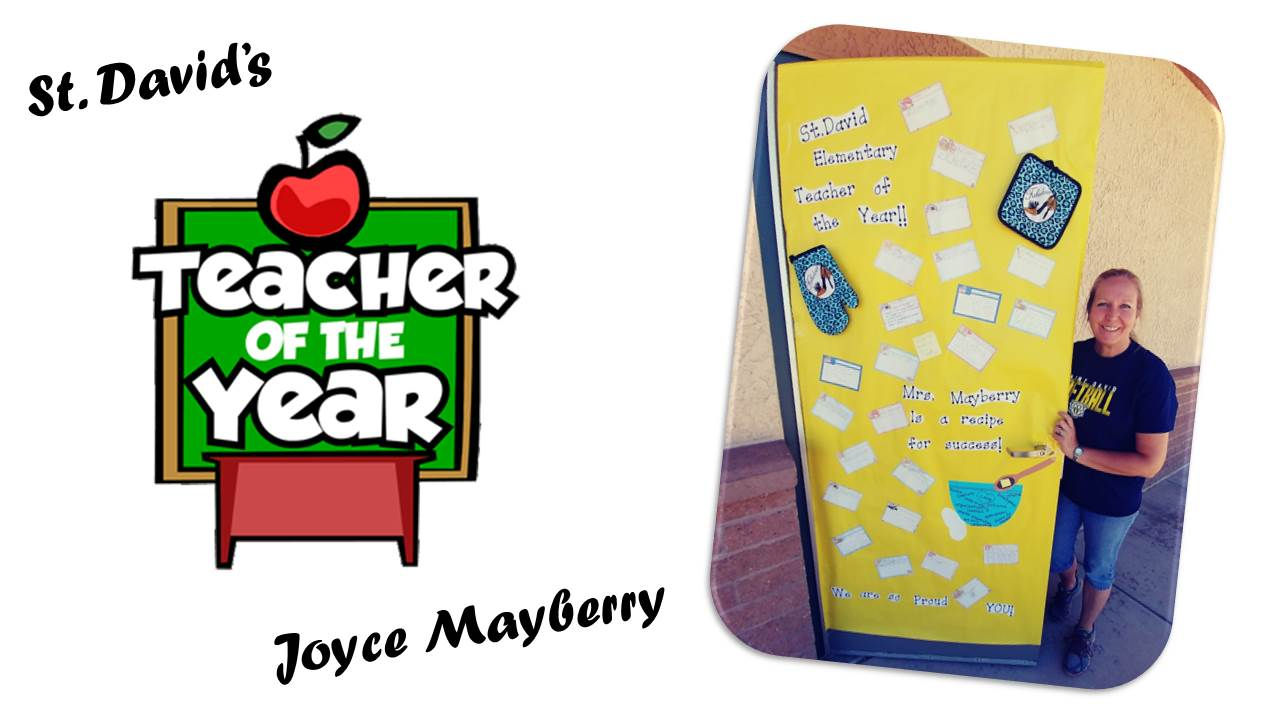St. David's Teacher of the Year - Joyce Mayberry