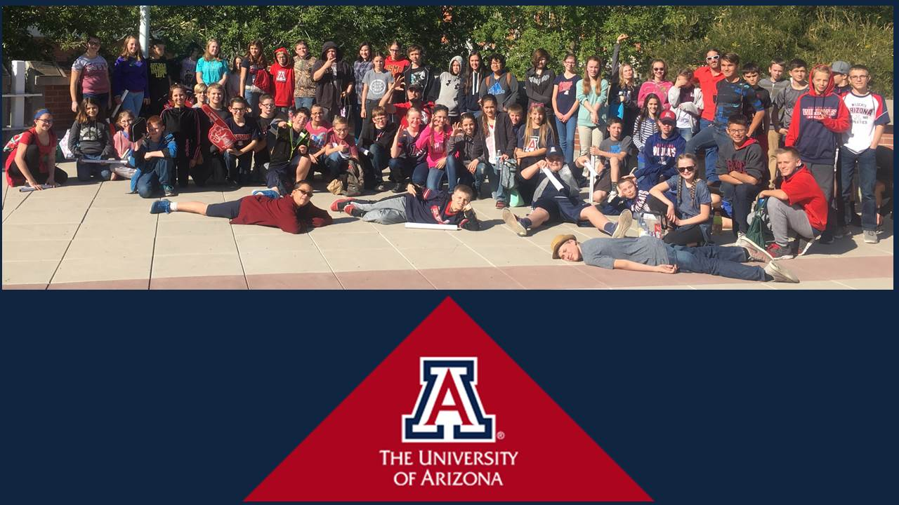 The University of Arizona visit